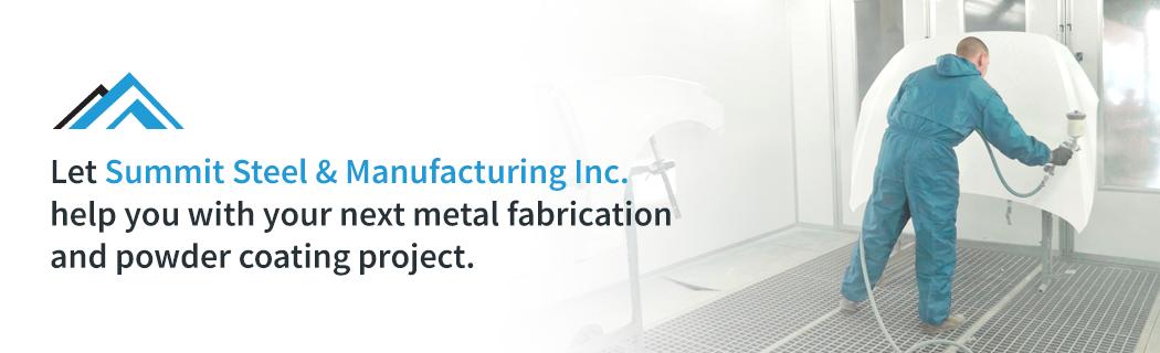 Benefits of Powder Coating in Metal Fabrication - Summit